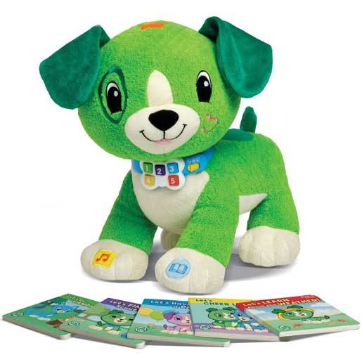 LeapFrog Read with Me Scout Soft Toy
