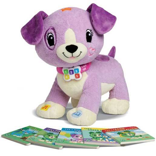 LeapFrog Read with Me Violet Soft Toy
