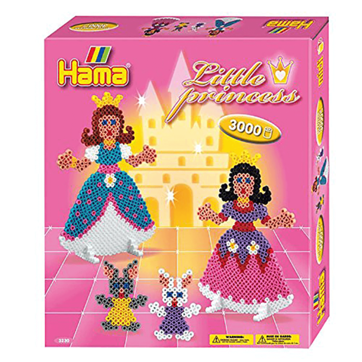 Hama Little Princess Gift Box - 3000 Beads