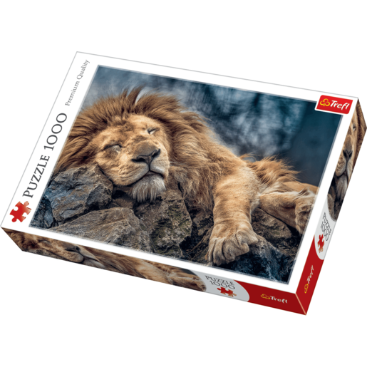 Trefl Sleeping Lion Jigsaw Puzzle - 1000 Pieces
