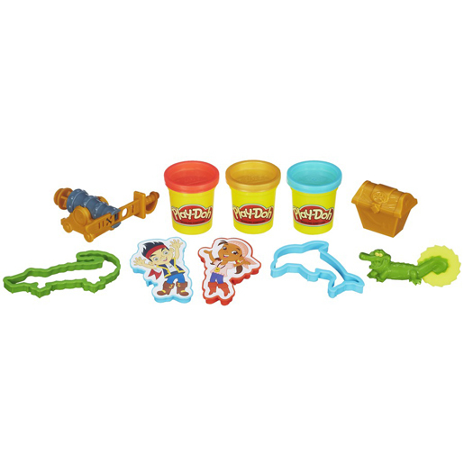 Play-Doh Jake and The Never Land Pirates Treasure Creations