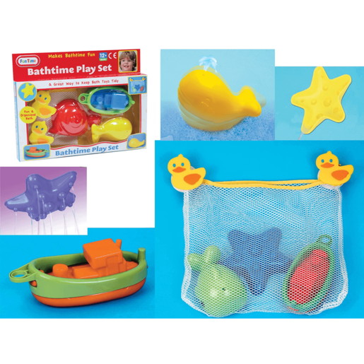 Fun Time Bathtime Playset