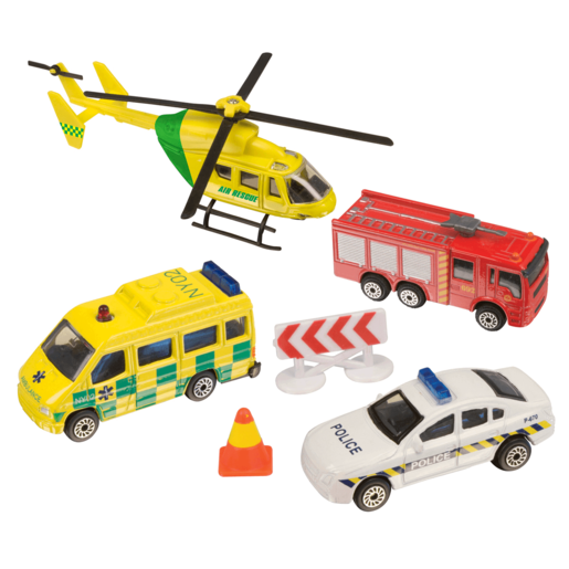 City Rescue Vehicles (Styles Vary)