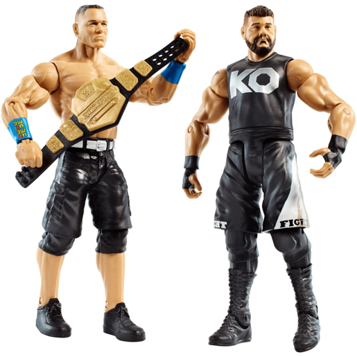 WWE Battle 2-Pack Figures - John Cena and Kevin Owens