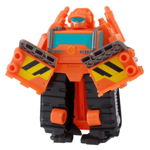 Playskool Transformers Rescue Bots 13cm Figure - Wedge The Construction-Bot