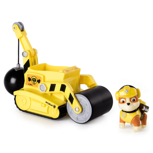 Paw Patrol Rubble's Steam Roller