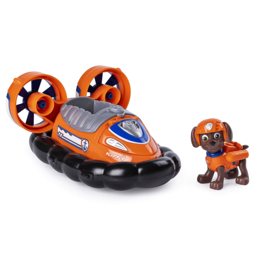 Paw Patrol Transforming Vehicle - Zuma Hovercraft Bulldozer