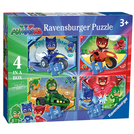 Ravensburger 4-in-1 Box Jigsaw Puzzles - PJ Masks