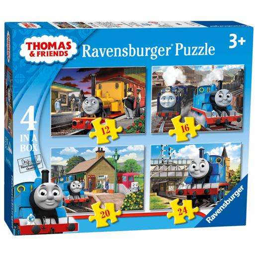Ravensburger 4 in Box Puzzles - Thomas & Friends