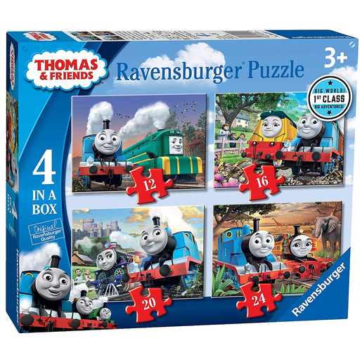 Ravensburger 4 in a Box Puzzles - Thomas & Friends Big Adventures