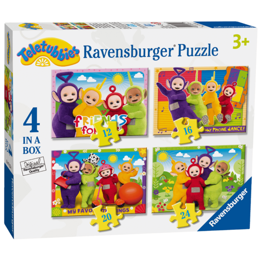 Ravensburger 4 in a Box Puzzles - Teletubbies