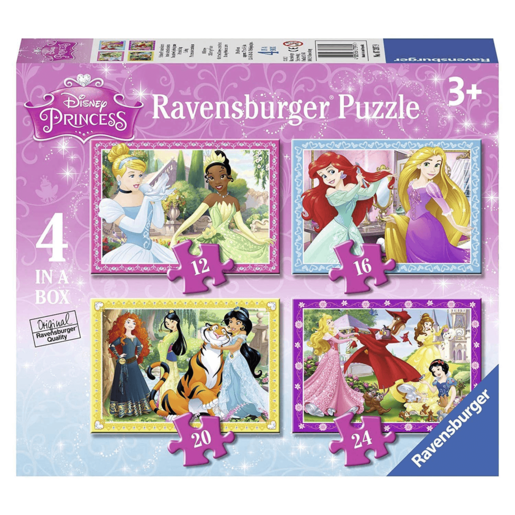 Ravensburger Disney Princess 4 In a Box Puzzles