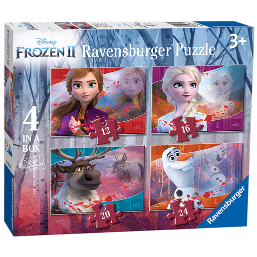 Ravensburger 4 in a Box Puzzle - Disney Frozen 2