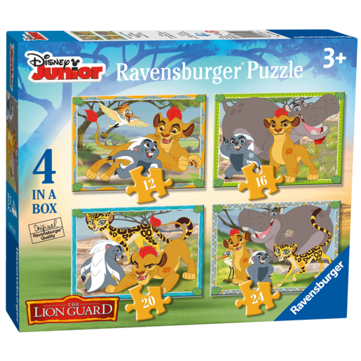 Ravensburger Disney The Lion Guard 4 in a Box Puzzle