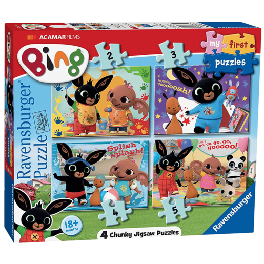 Ravensburger 4 in a Box Puzzles - Bing Bunny