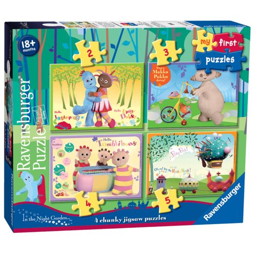 Ravensburger 4 in a Box Chunky Jigsaw Puzzles - In The Night Garden
