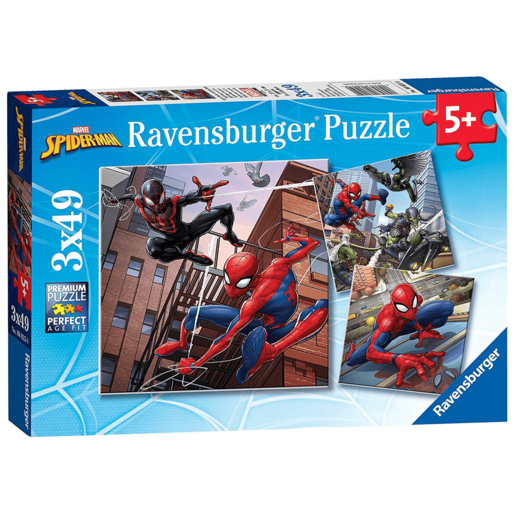 Ravensburger 4 in a Box Puzzles - Marvel Spider-Man
