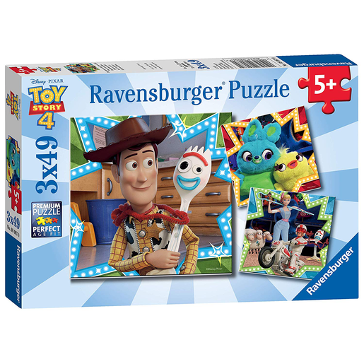 Ravensburger 3 in a Box Puzzles - Toy Story 4