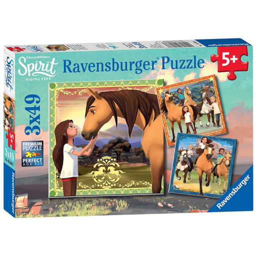 Ravensburger Spirit - 3x49 Pieces Puzzle