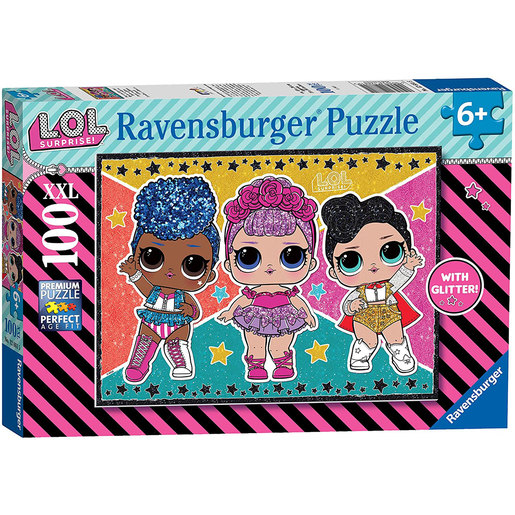 Ravensburger L.O.L Surprise! XXL Puzzle - 100pc.