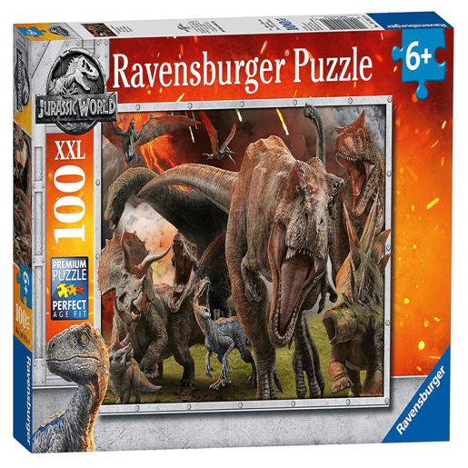 Ravensburger Jurassic World: Fallen Kingdom XXL Puzzle - 100pc