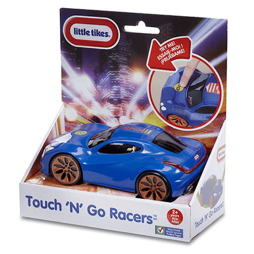 Little Tikes Touch n Go Racer Vehicle - Blue