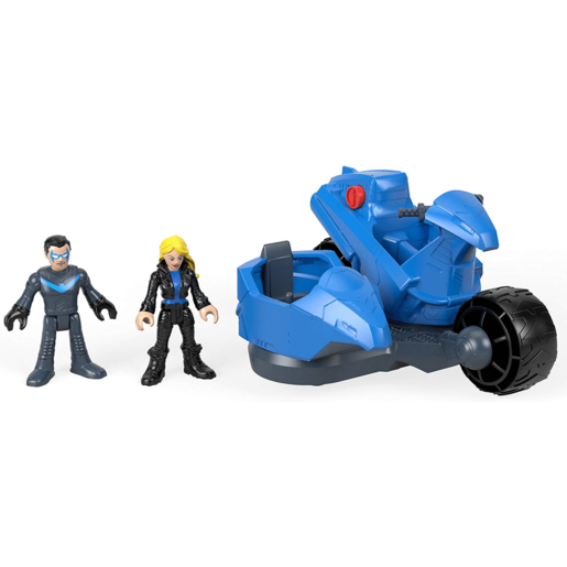 Fisher-Price Imaginext DC Super Friends - Nightwing and Transforming Cycle Playset