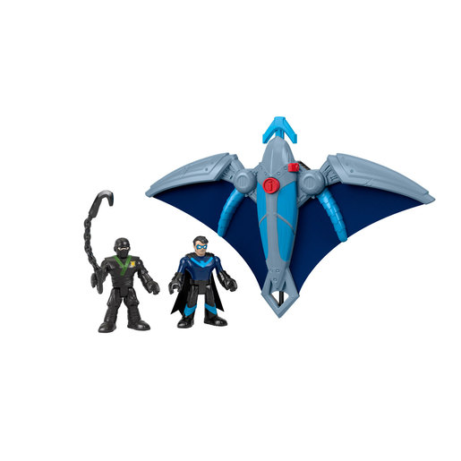 Fisher-Price Imaginext DC Super Friends - Ninja Nightwing and Glider