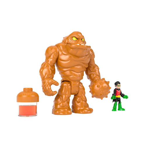Fisher-Price Imaginext DC Super Friends - Oozing Clayface and Robin