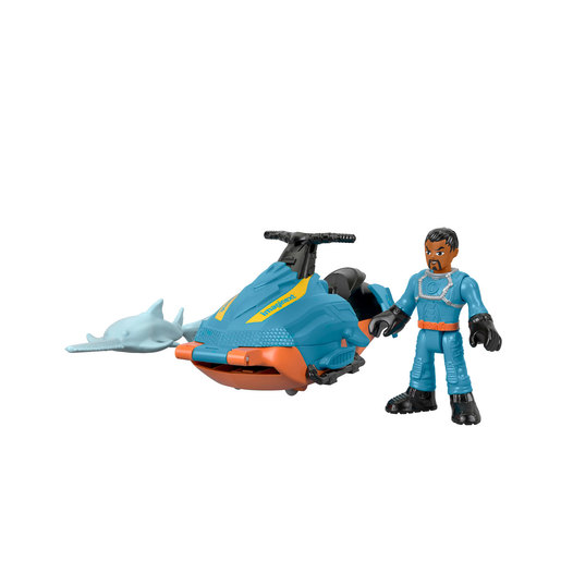 Fisher-Price Imaginext DC Super Friends - Shark Patrol Jet-Ski