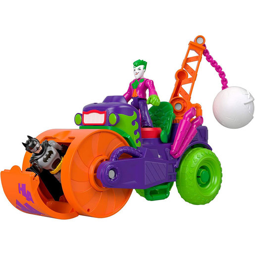 Fisher-Price Imaginext DC Super Friends - The Joker Steamroller
