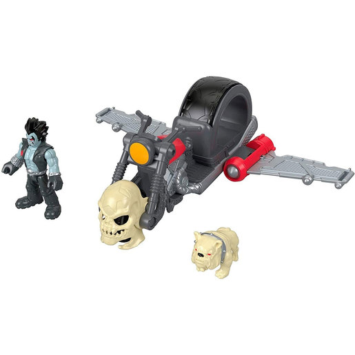 Fisher-Price Imaginext DC Super Friends - Lobo and Motorcycle