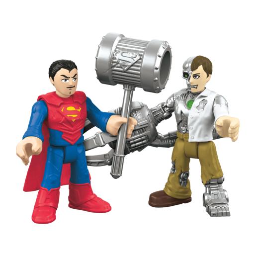 Fisher Price Imaginext DC Super Friends   Superman & Mettalo