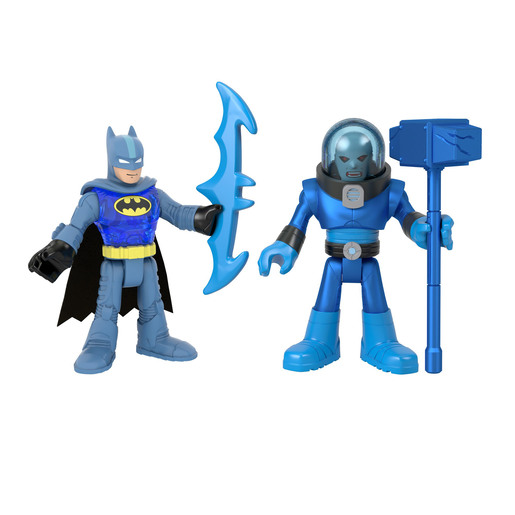 Fisher-Price Imaginext DC Super Friends - Batman & Mr. Freeze Figures