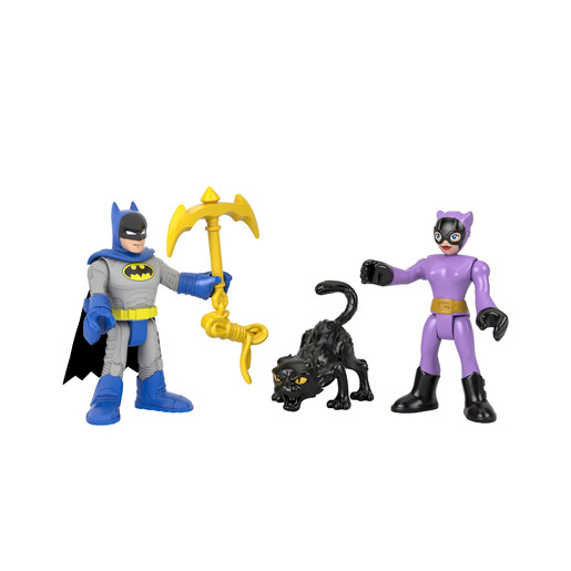 Fisher-Price Imaginext DC Super Friends - Batman & Catwoman Figures