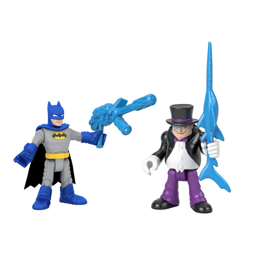 Fisher-Price Imaginext DC Super Friends - Batman & The Penguin Figures