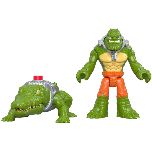 Fisher-Price Imaginext DC Super Friends - K. Croc and Crocodile