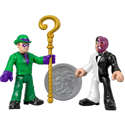 Fisher-Price Imaginext DC Super Friends - The Riddler and Two-Face