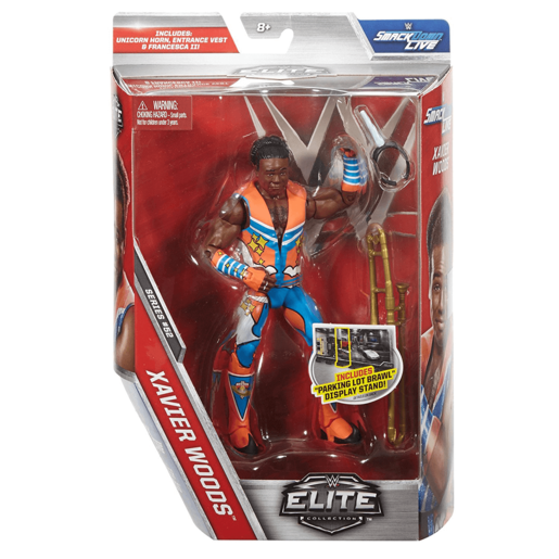 WWE Elite Collection Action Figure - Xavier Woods