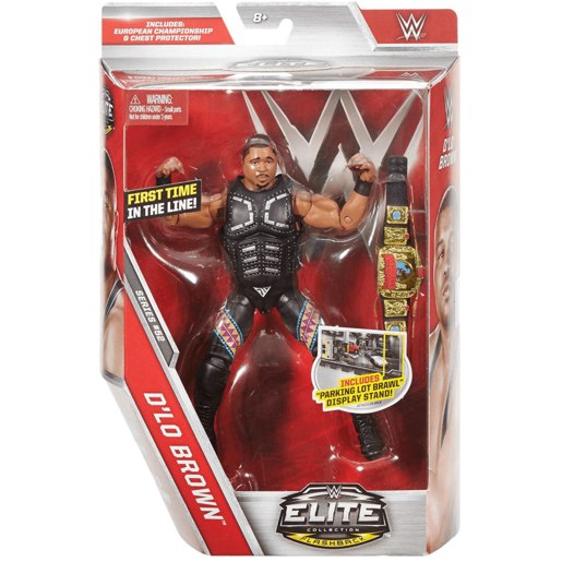 WWE Elite Collection Action Figure - Dlo Brown