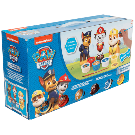 Paw Patrol Paint Your Own Figures 3 Pack