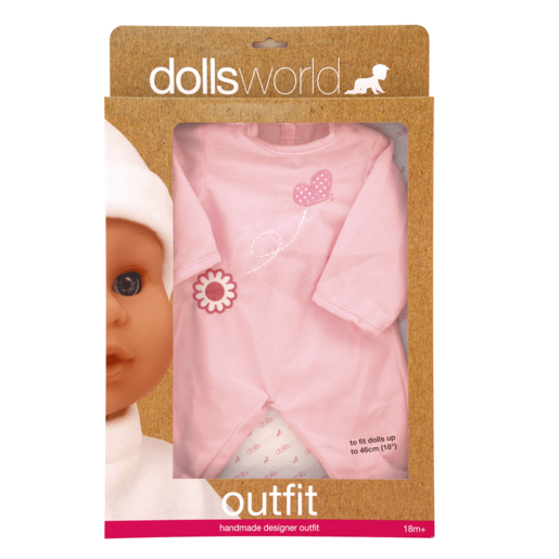 Dolls World Outfit - Pink