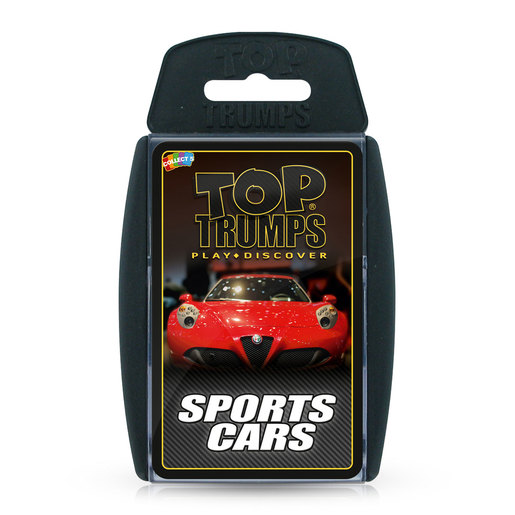 Sports Cars Top Trumps Card Game from TheToyShop