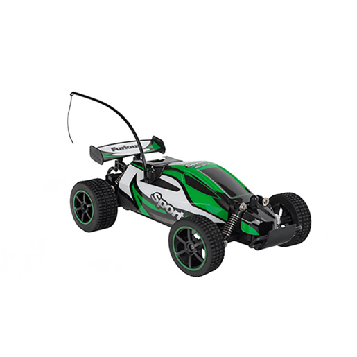 1:22 Mad Runner Remote Control Speed Car - Speed Racing Sport Green