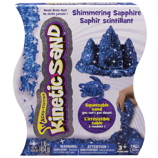 Kinetic Sand Gem Sand - Sapphire Colour 454g