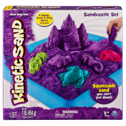 Kinetic Sand Box Set (Colours Vary)
