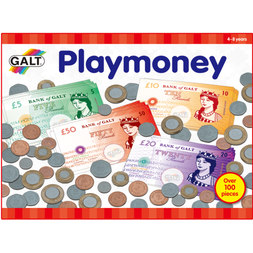 James Galt Play Money Box