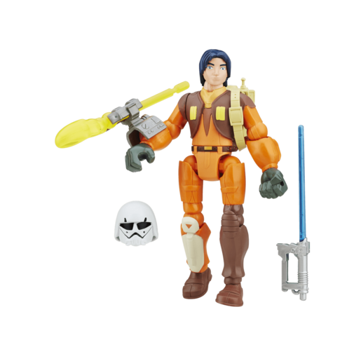 Star Wars Hero Mashers 13cm Action Figure - Ezra Bridger