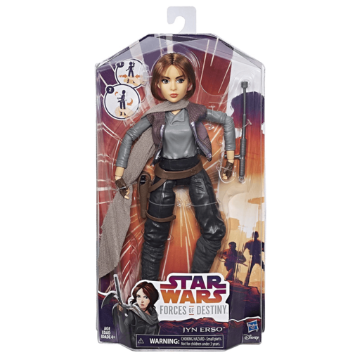 Star Wars Forces Of Destiny 30cm Figure - Jyn Erso