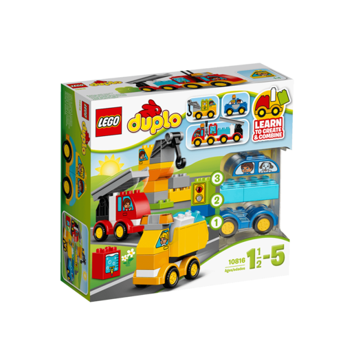 LEGO Duplo My First Cars and Trucks - 10816